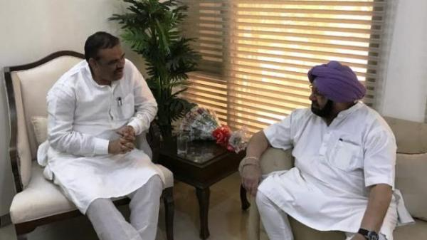 BJP extended full support to Punjab govt on SYL; Claims Congress