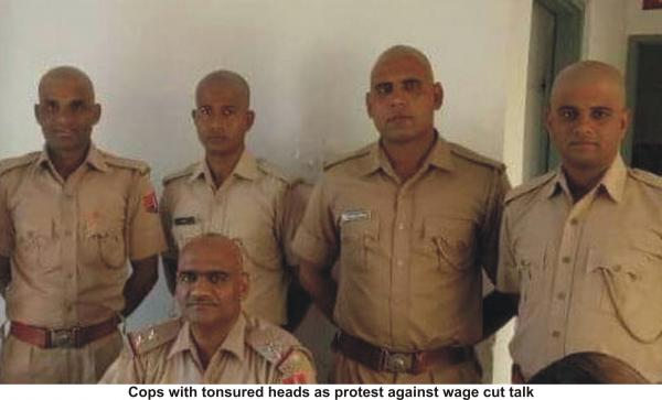Cops take WhatsApp message seriously, skip Rajnath Singh's Guard of Honour