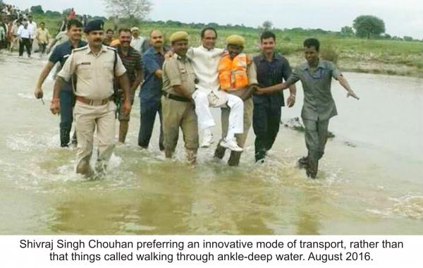 Why Shivraj Chouhan found Madhya Pradesh roads are better than roads in Washington, DC?