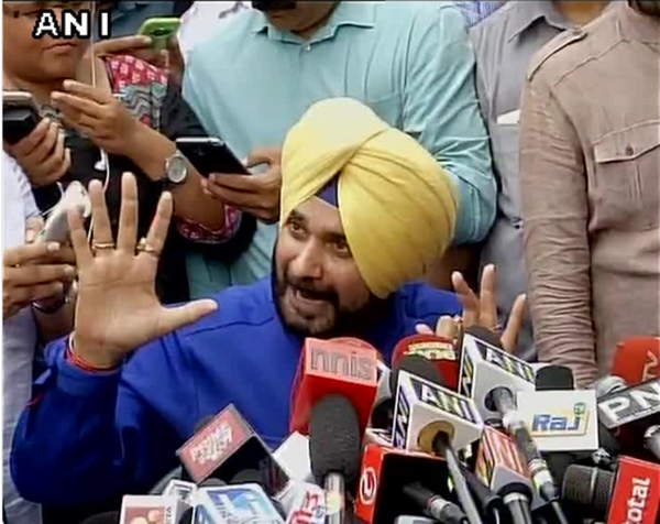Quit Rajya Sabha as I was told to stay away from Punjab : Navjot Sidhu