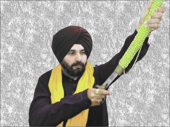 Punjab's Fastway Cowboy: Sidhu is challenging Maharaja for a duel