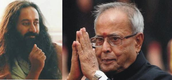 President Mukherjee not to attend Sri Sri's event