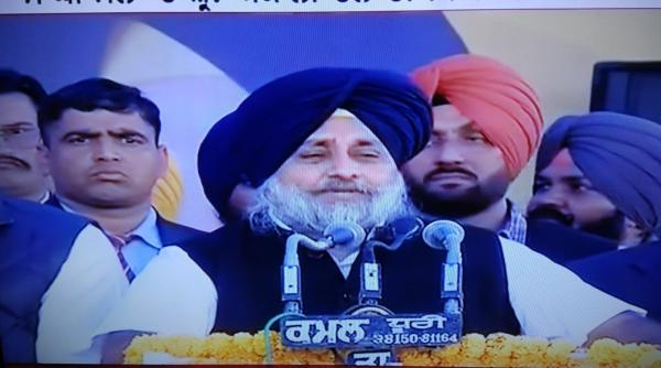 Avenge Amarinder's Thaggi - Help SAD-BJP win all 13 LS seats: Sukhbir on Maghi Mela