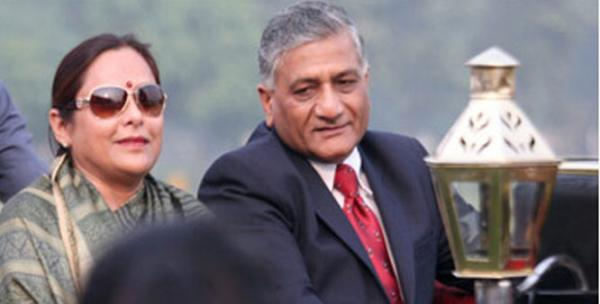 Union Minister VK Singh's wife alleges blackmail; says man threatens to leak audio
